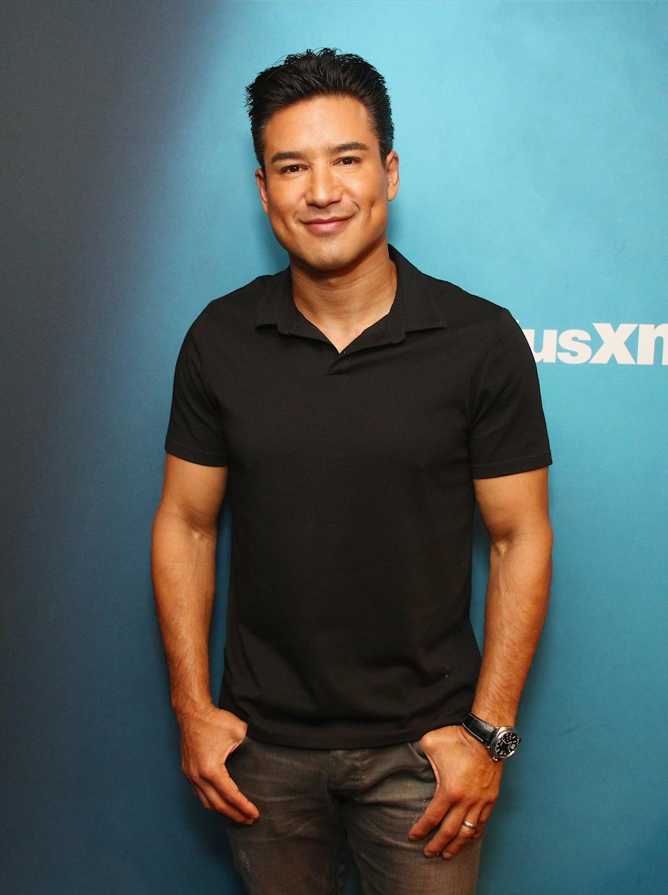 Television personality host Mario Lopez shared his controversial views on raising transgender children. (Photo: Getty Images)