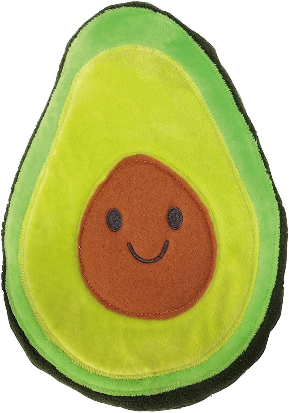 <p>If you keep this cute <span>Huggable Avocado Heating and Cooling Pad</span> ($25) in the fridge, you can always lay on a cold pillow. How dreamy does that sound?</p>