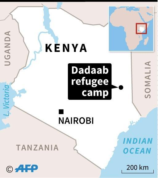 The Dadaab refugee camp is home to some 256,000 people (AFP Photo/)