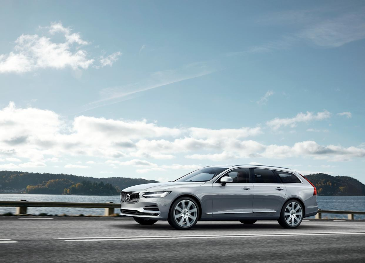 Volvo's V90 is packed with high-tech features