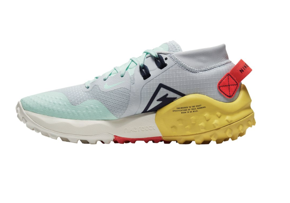 """<p><strong>Nike</strong></p><p>backcountry.com</p><p><strong>$82.46</strong></p><p><a href=""""https://go.redirectingat.com?id=74968X1596630&url=https%3A%2F%2Fwww.backcountry.com%2Fnike-air-zoom-wildhorse-4-trail-running-shoe-womens&sref=https%3A%2F%2Fwww.womenshealthmag.com%2Ffitness%2Fg22853139%2Fbest-winter-running-shoes%2F"""" rel=""""nofollow noopener"""" target=""""_blank"""" data-ylk=""""slk:Shop Now"""" class=""""link rapid-noclick-resp"""">Shop Now</a></p><p>Romano's pick for snowy road running is the Nike Air Zoom Wildhorse. It's designed with a lugged rubber outsole that provides traction in both wet and dry conditions. They're also made with Nike's Responsive React cushioning to provide you with comfort and energy no matter how long your runs are. </p>"""