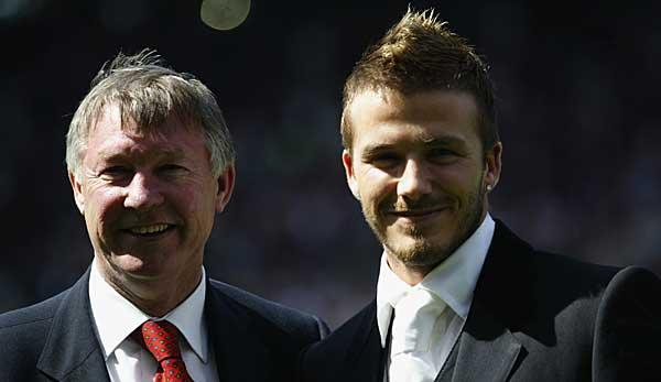 Premier League: So reagierte David Beckham auf Sir Alex Fergusons Schuhtritt 2003