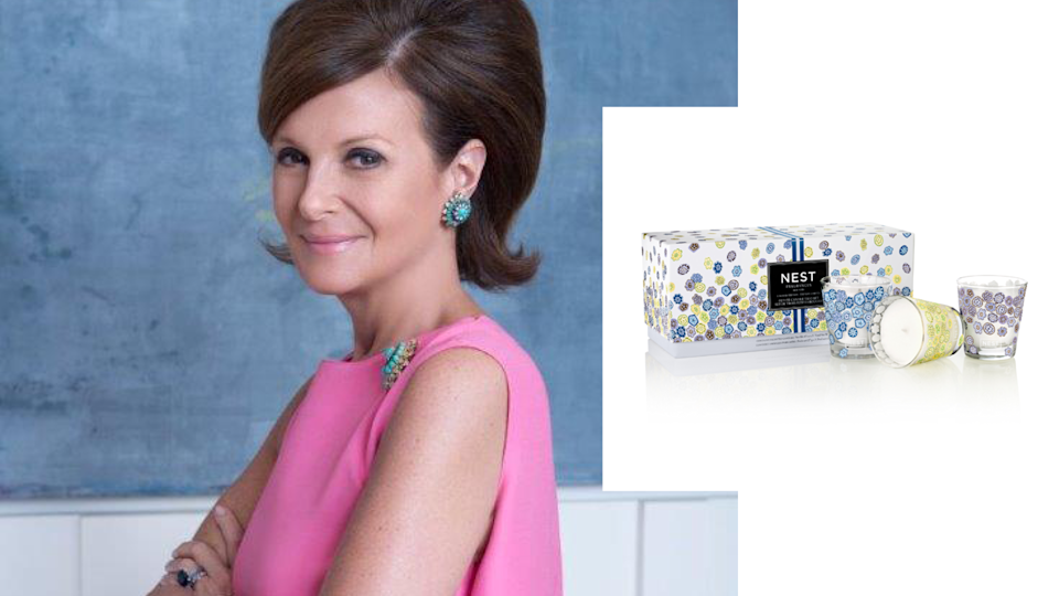 """<p>Laura Slatkin redefined luxury home fragrances when she launched her company in 2005. NEST Fragrances fuses chic packaging and insatiable notes to deliver an aromatic experience that is opulent yet affordable. This fierce businesswoman leads her team with the same quality.<br>She tells Yahoo Lifestyle: """"Female entrepreneurs have a unique combination of being confident leaders who are focused on driving a successful business while also maintaining a level of sensitivity that keeps things in perspective. At NEST Fragrances, for example, we always find ways to support causes and initiatives that are important to our employees and their families. We have over 60 employees and I care deeply about each and every one of them. They all know my door is always open if they want to talk, and I will be there to listen. Being a female entrepreneur and having the brilliant opportunity to build a successful business provides one with a great sense of self-accomplishment and excitement. However, we must always remember what is truly important in life, and that is the health and well-being of ourselves and of those around us.""""<br><br>Spring Petite Candle Trio Set, $64, <a href=""""https://www.bloomingdales.com/shop/product/nest-fragrances-2018-spring-candle-trio?ID=2829099"""" rel=""""nofollow noopener"""" target=""""_blank"""" data-ylk=""""slk:bloomingdales.com"""" class=""""link rapid-noclick-resp"""">bloomingdales.com</a>. (Art by Quinn Lemmers for Yahoo Lifestyle) </p>"""