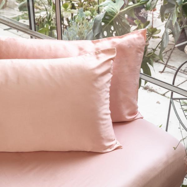 """<p>""""There are dozens of effective hair- and skin-care products on the market, but the most consistent results I've seen across the board is when I change my - wait for it - bed sheets. There are plenty of options out there, but I personally love the <span>Ettitude Bamboo Lyocell Pillowcase Set</span> ($40). The fibers feel like silk and are infused with 100 percent organic bamboo, which wicks away any moisture or sweat that might build up on skin overnight - so I wake up looking (and feeling!) better."""" - KC</p>"""