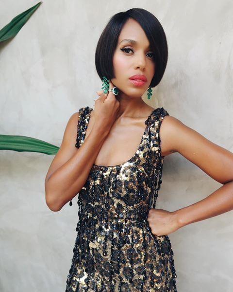 """<p>Nominated for actress in a limited series for Little Fires Everywhere – Kerry Washington decided to go all out with her dazzling outfits for the evening...</p><p><a href=""""https://www.instagram.com/p/CFYWmx8H4iJ/"""">See the original post on Instagram</a></p>"""