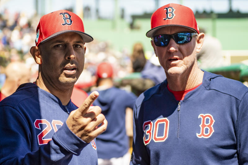 The Red Sox are reportedly making Ron Roenicke, Alex Cora's right-hand man the past two seasons, their interim manager. (Photo by Billie Weiss/Boston Red Sox/Getty Images)