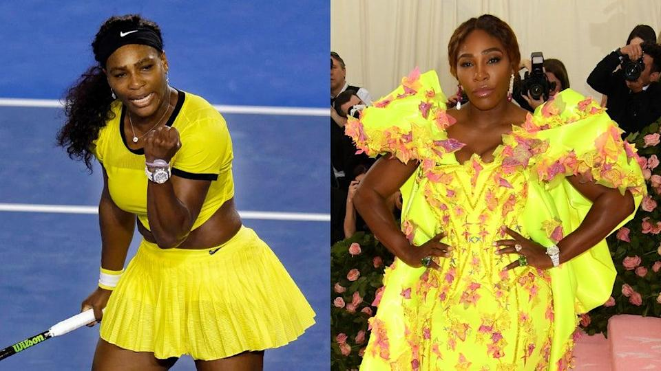 Serena Williams is a style star on and off the court (Alamy/Jennifer Graylock/PA)
