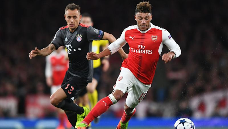 Alex Oxlade-Chamberlain Reveals He Was Banned From Visiting Teammate's Room on Away Days