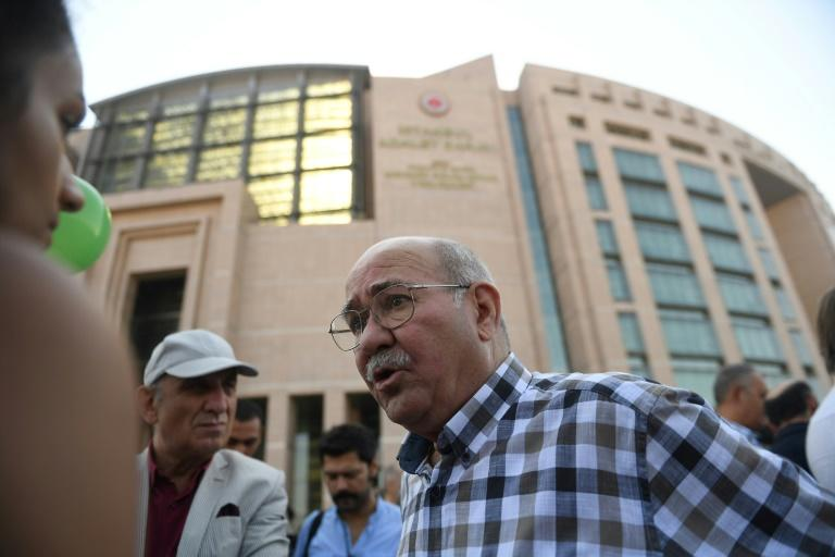 Veteran journalist Aydin Engin, 77, resigned from Cumhuriyet after writing for the newspaper for 15 years, saying the paper had 'lost its sharpness'