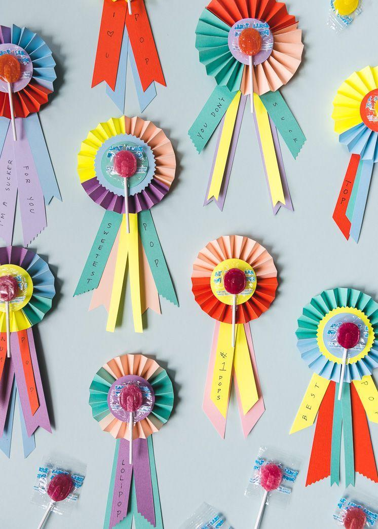 """<p>Your dad is the sweetest guy there is — and these paper ribbons with a lollipop center are the cutest way to tell him exactly that. </p><p><a href=""""https://thehousethatlarsbuilt.com/2018/06/fathers-day-lollipop-prize-ribbons.html/"""" rel=""""nofollow noopener"""" target=""""_blank"""" data-ylk=""""slk:Get the tutorial at The House That Lars Built »"""" class=""""link rapid-noclick-resp""""><em>Get the tutorial at The House That Lars Built »</em></a></p>"""