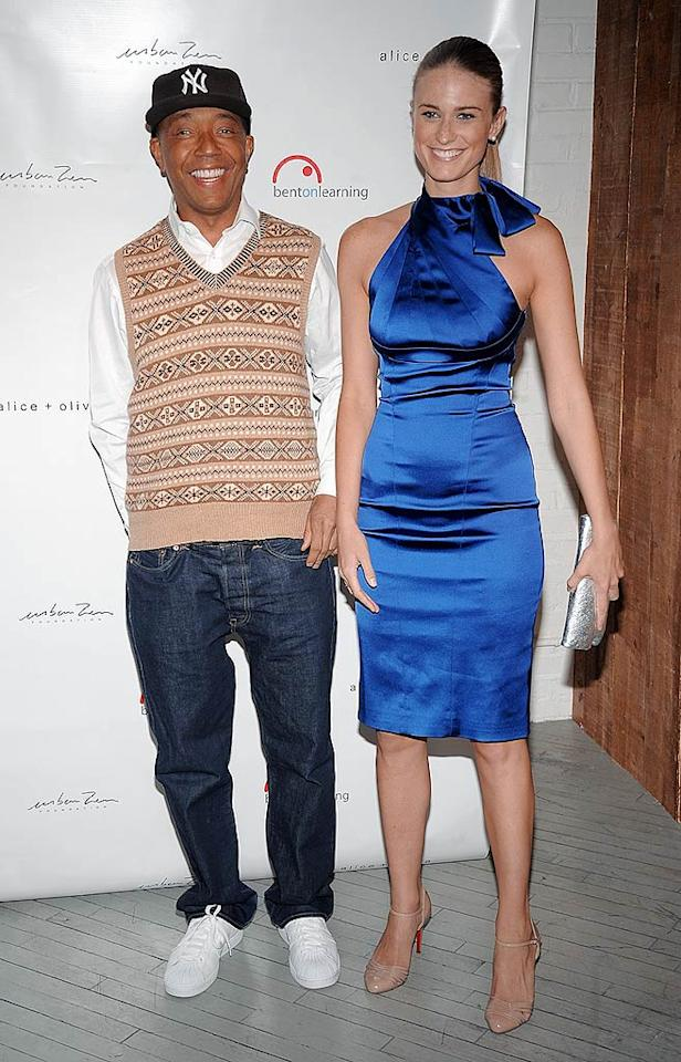 "We wonder what Kimora Lee Simmons thinks of her husband Russell's girlfriend, model/heiress Julie Henderson? Jamie McCarthy/<a href=""http://www.wireimage.com"" target=""new"">WireImage.com</a> - February 25, 2009"
