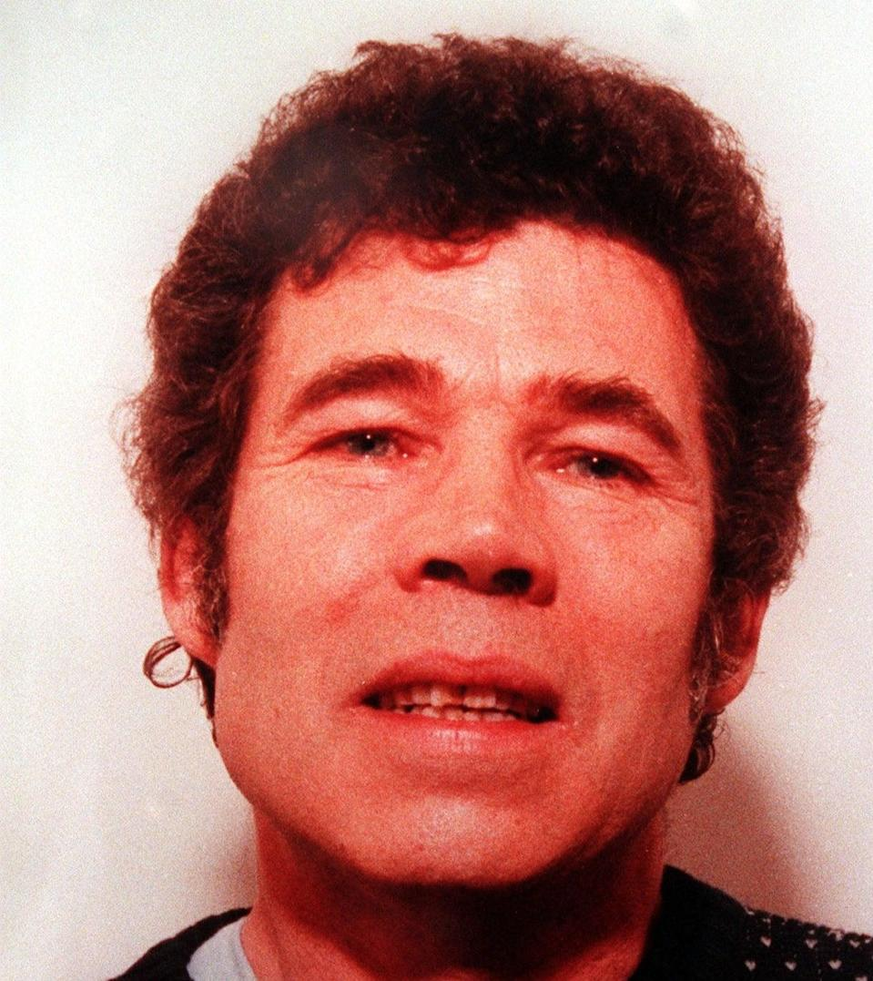 A police-issued photograph of serial killer Fred WestPA