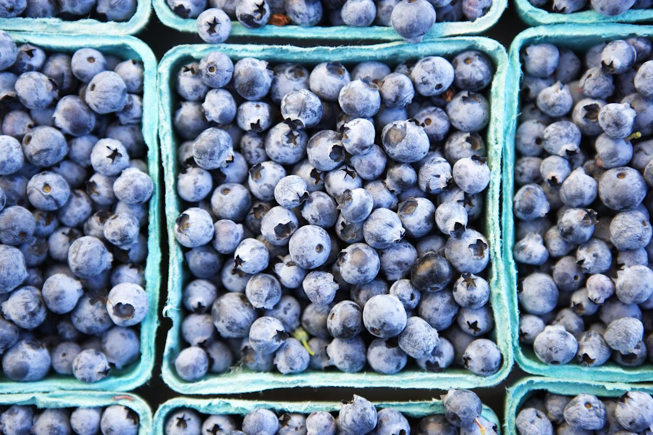 """<p>That bright blue color of blueberries offers so much more than just a 'grammable breakfast or snack. A handful of the little blue fruits has some serious health benefits. Everyone knows they're chock full of <a href=""""https://www.runnersworld.com/nutrition-weight-loss/a20814829/a-diet-plan-just-for-runners/"""" target=""""_blank"""">antioxidants</a>, but what you might not know is all of the other benefits you can get by adding blueberries to you diet, even some that come from the berry's hue. Read on for more health benefits of blueberries you can feel good about.</p>"""