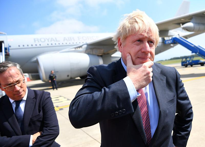 Boris Johnson Flies Into Dangerous Skies