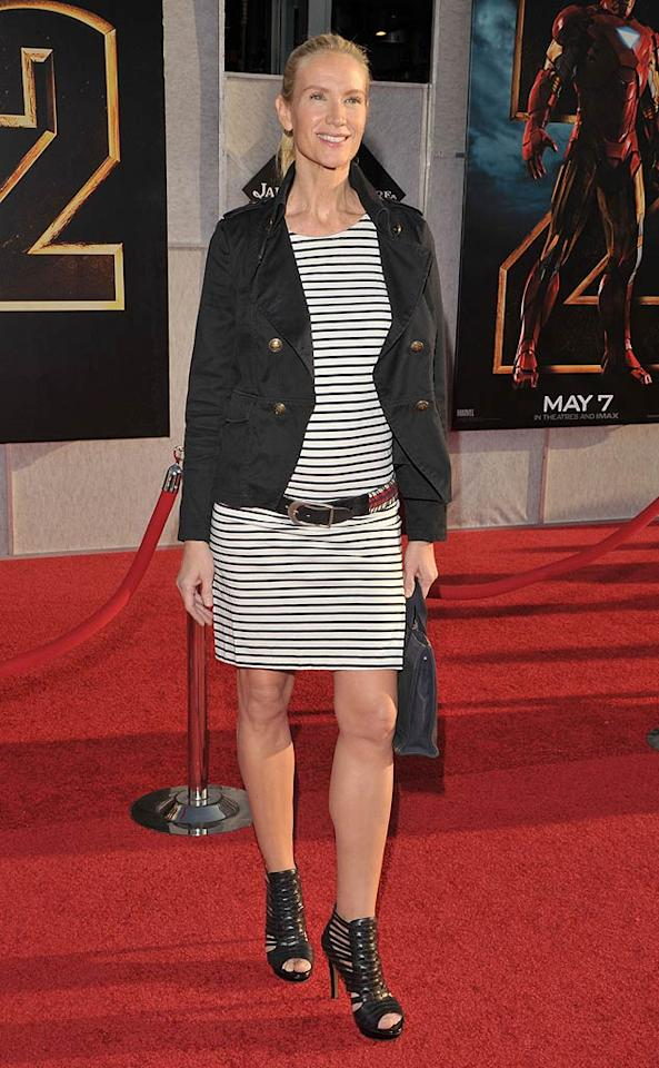 """Actress Kelly Lynch went nautical for the blockbuster sequel's world premiere. Lester Cohen/<a href=""""http://www.wireimage.com"""" target=""""new"""">WireImage.com</a> - April 26, 2010"""