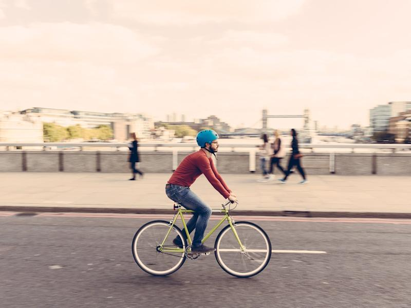 I had imagined moving back to London and cycling my bike in the new cycle lanes and enjoying some kind of new, green urban utopia: Getty
