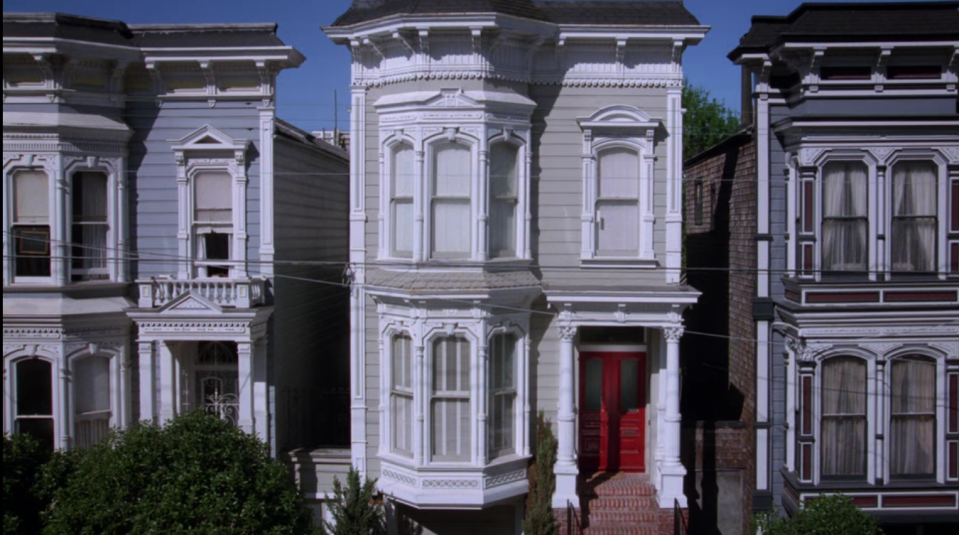 """<p>This beauty was featured in the opening credits of the family-friendly '90s TV show, <em>Full House</em>. The exterior used for the Tanner household sits in a row of homes called """"The Painted Ladies."""" If you plan a visit, just remember, it's a private residence, so be respectful. </p><p>1709 Broderick St. San Francisco, CA 94115 </p>"""
