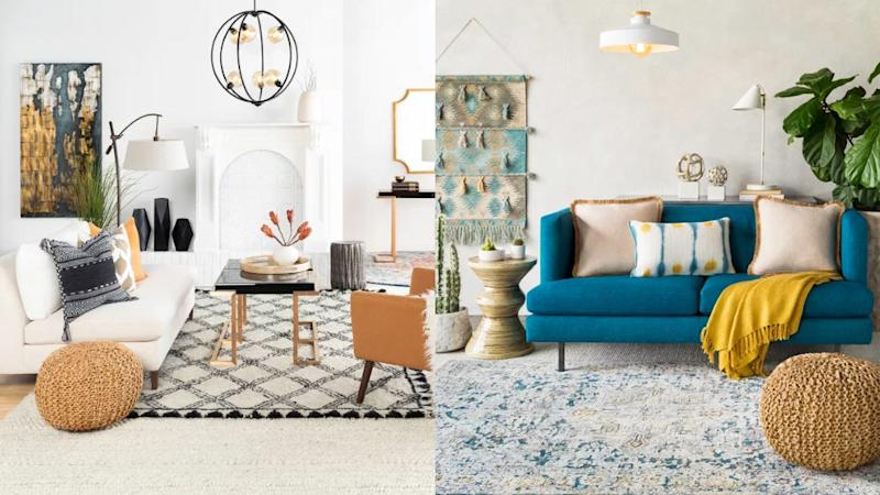 Add a fun accent to your space.