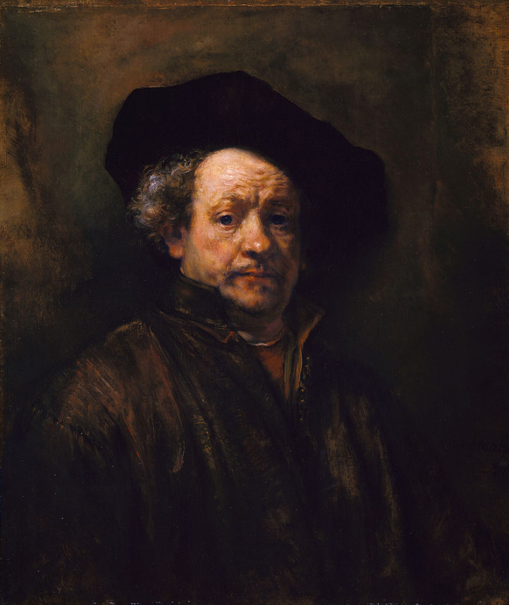 Self-portrait by Rembrandt, 1660 (New York Metropolitan Museum of Art)