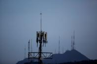 A cellular tower is pictured in Monterrey