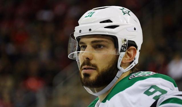 "<a class=""link rapid-noclick-resp"" href=""/nhl/players/4962/"" data-ylk=""slk:Tyler Seguin"">Tyler Seguin</a>'s comments his teammates speaking languages other than English has not gone over well – and rightly so.  (NBC)"