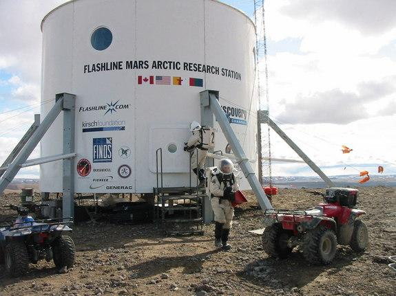 Wanted: Volunteers for Yearlong Mock Mars Mission in Canadian Arctic