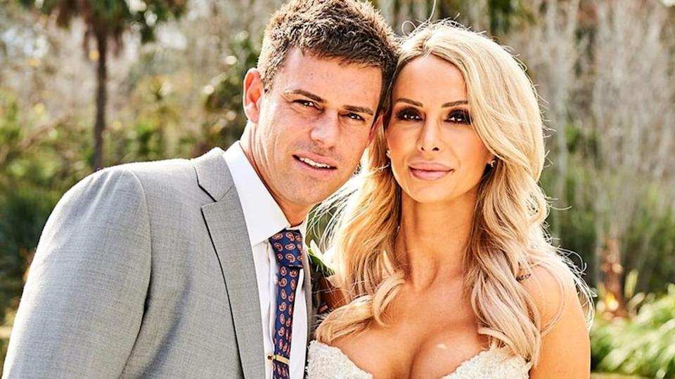 MAFS Michael Goonan and Stacey Hampton appear on Married at First Sight