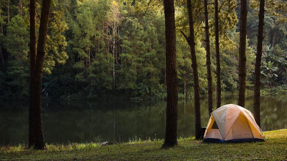 """<p>To get to know your partner better, think about truly getting away from it all. Leave the devices at home, head into the great outdoors, and spend a weekend focusing on nothing but each other.</p><p><strong>Related:</strong> <a href=""""https://www.countryliving.com/shopping/gifts/g23549426/camping-gifts/"""" rel=""""nofollow noopener"""" target=""""_blank"""" data-ylk=""""slk:Camping Gifts for All the Outdoorsy People in Your Life"""" class=""""link rapid-noclick-resp"""">Camping Gifts for All the Outdoorsy People in Your Life</a></p><p><a class=""""link rapid-noclick-resp"""" href=""""https://www.amazon.com/s?k=tents&tag=syn-yahoo-20&ascsubtag=%5Bartid%7C10050.g.35949770%5Bsrc%7Cyahoo-us"""" rel=""""nofollow noopener"""" target=""""_blank"""" data-ylk=""""slk:SHOP TENTS"""">SHOP TENTS </a></p>"""