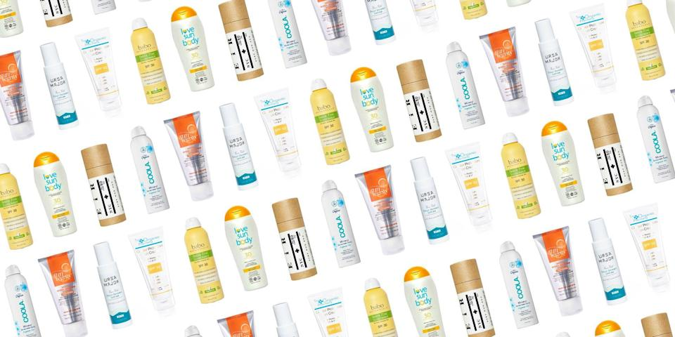 <p>In the past, organic sunscreen got something of a bad rap. Natural substitutes to SPF were labeled as crusty and ineffective, but these days, alternatives to your classic sun protection exceeds expectations. For those that are seeking oxybenzone-free (to protect coral reefs from environmental depletion) UVA/UVB protection with natural ingredients, and, of course, organically sourced goodness, we rounded up some our favorites below. From sheer to sport formulations, you'll be covered—literally!</p>