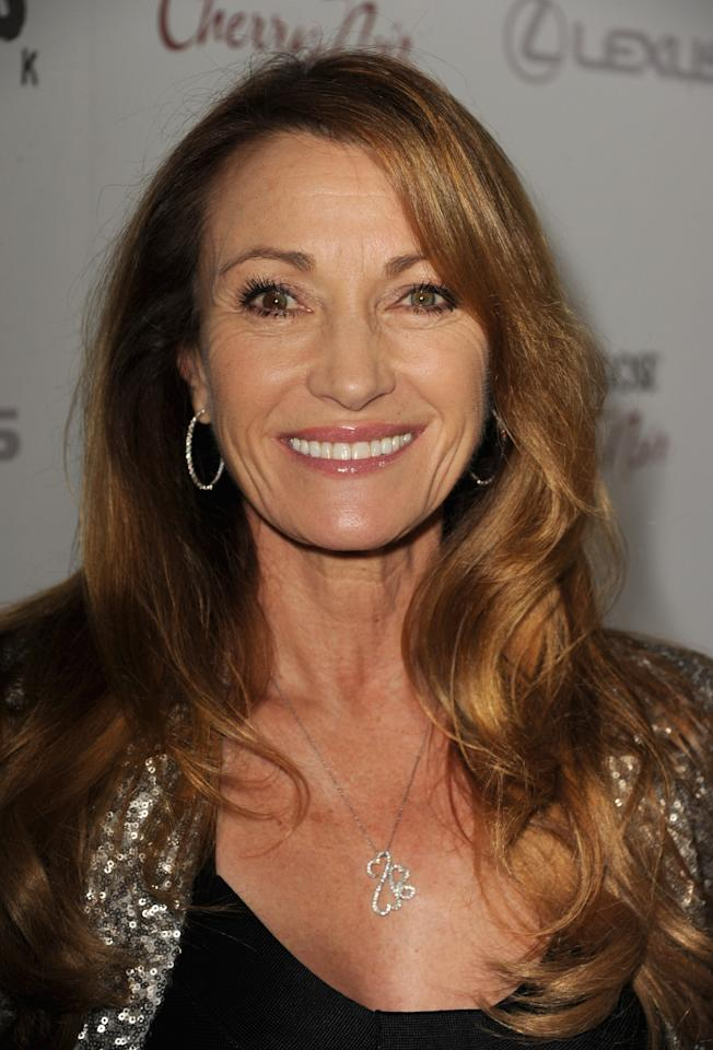 """BEVERLY HILLS, CA - NOVEMBER 19:  Actress Jane Seymour attends a screening of The Weinstein Company's """"Silver Linings Playbook"""" at the Academy of Motion Picture Arts and Sciences on November 19, 2012 in Beverly Hills, California.  (Photo by Kevin Winter/Getty Images)"""