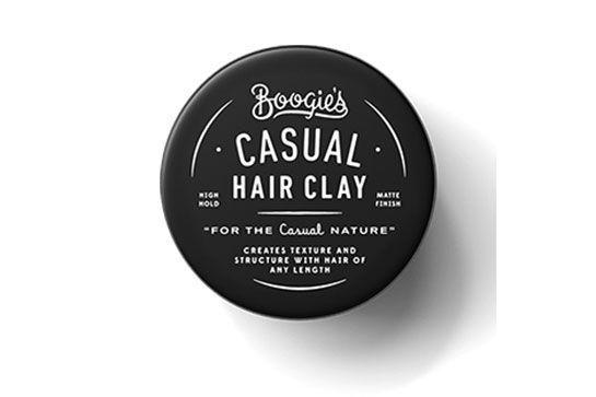 "<p>Even the most casual guy likes well-groomed hair. <a href=""https://www.dollarshaveclub.com/our-products/style/hair-clay/whats-inside"">Boogie's Casual Hair Clay</a> ($10)</p>"