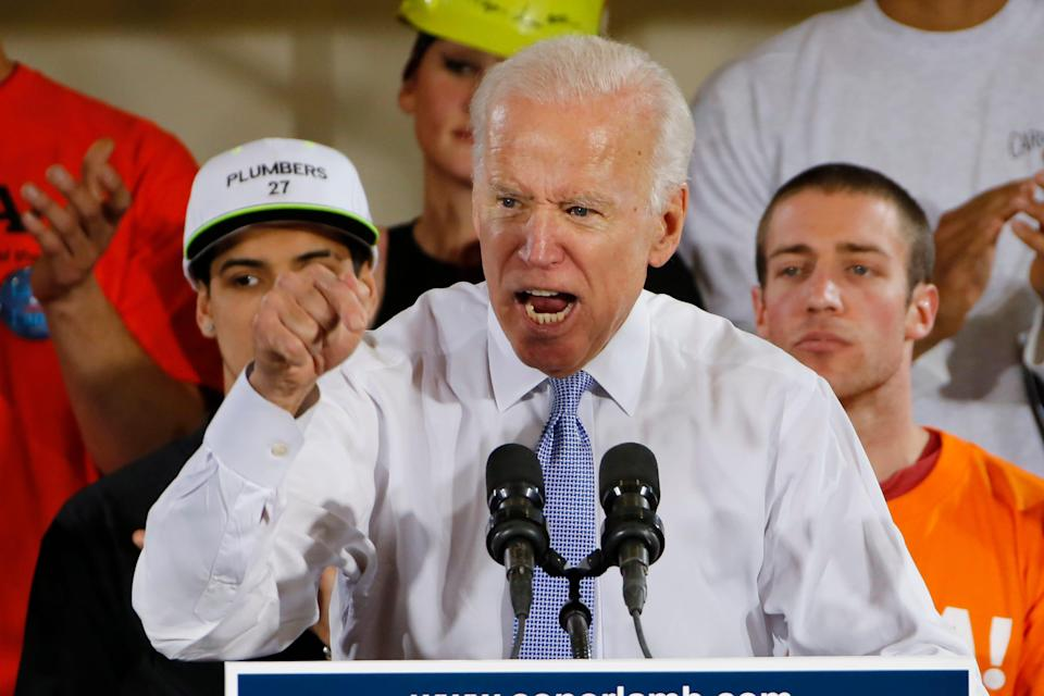 Former Vice President Joe Biden supported fellow Democrats during the 2018 midterm races.