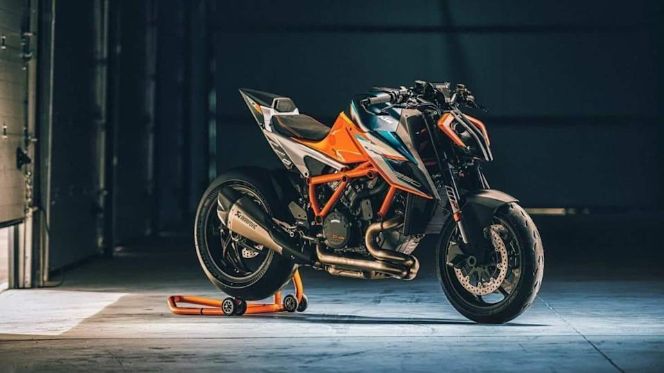 Limited-edition KTM 1290 Super Duke RR sports bike sold out
