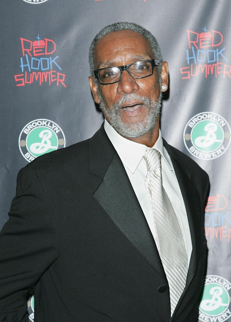 """NEW YORK, NY - AUGUST 06: Thomas Jefferson Byrd attends the """"Red Hook Summer"""" premiere at the DGA Theater on August 6, 2012 in New York City. (Photo by Jim Spellman/WireImage)"""