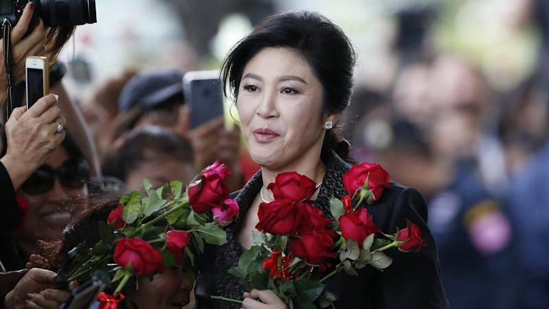 Thailand's former prime minister Yingluck Shinawatra has failed to show up to court.