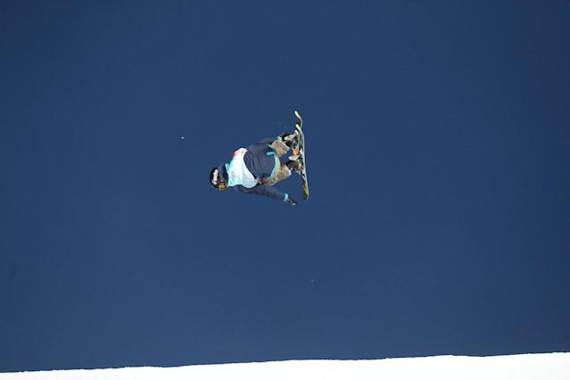 Freestyle Skiing - X Games Women's Big Air Ski finals - Hafjell, Norway - 11/03/17 - Gold medalist Mathilde Gremaud from Switzerland in action. NTB Scanpix/Geir Olsen/via REUTERS ATTENTION EDITORS - THIS IMAGE WAS PROVIDED BY A THIRD PARTY. FOR EDITORIAL USE ONLY. NORWAY OUT. NO COMMERCIAL OR EDITORIAL SALES IN NORWAY. NO COMMERCIAL SALES.