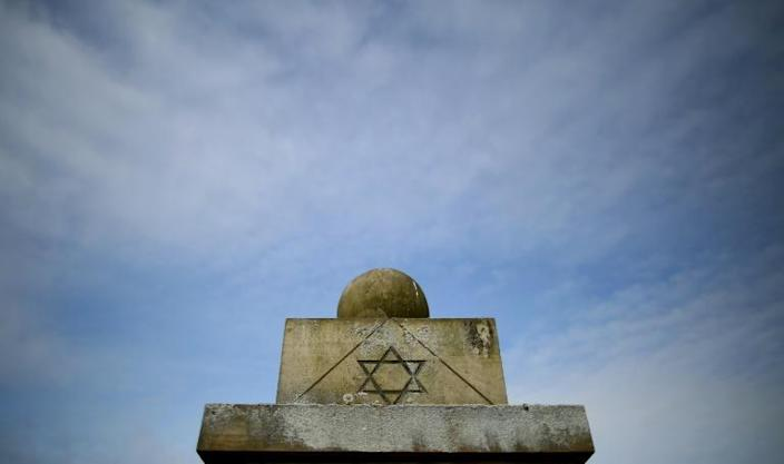 A monument on the grounds of the concentration camp Bergen-Belsen, where Anita Lasker-Wallfisch and her sister were transferred in March 1944 (AFP Photo/Ronny Hartmann)