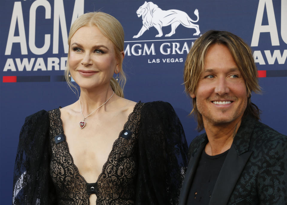 Nicole Kidman reveals what Keith Urban thinks of her filming intimate scenes.