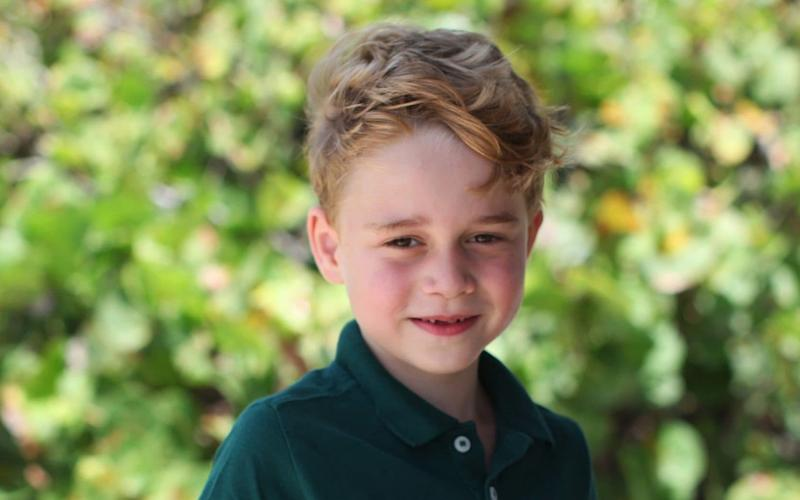 Prince George turns seven in July - The Duchess of Cambridge