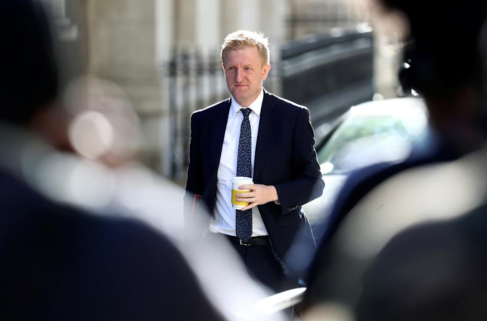Pressure is growing on Oliver Dowden to get fans back to sporting eventsReuters