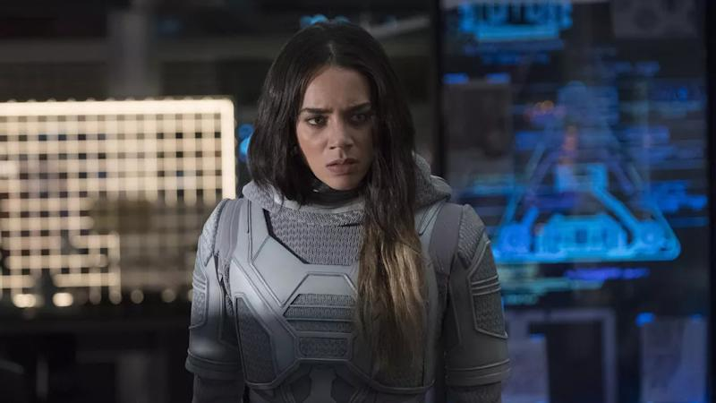Hannah John-Kamen portrayed Ghost in Marvel blockbuster 'Ant-Man and the Wasp'. (Credit: Marvel)