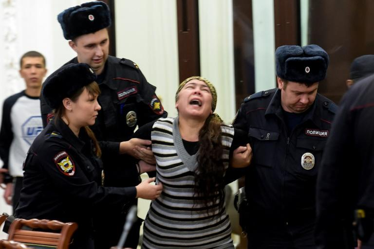 Shokhista Karimova was sentenced to 20 years in prison for involvement in the 2017 Saint Petersburg metro bombing