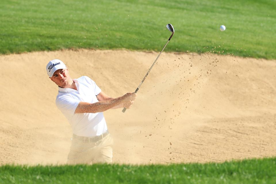 Justin Thomas at the 2021 Abu Dhabi HSBC Championship
