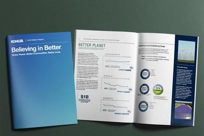 The report highlights initiatives in areas Kohler can make the biggest impact on the UN Sustainable Development Goals (SDGs).