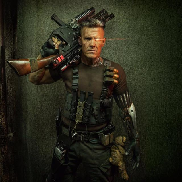 "<p>Reynolds followed the Cable close-up with this shot revealing more of Brolin's costume, including a <a href=""http://www.hollywoodreporter.com/heat-vision/deadpool-2-why-cable-has-a-bear-first-josh-brolin-photo-1027332"" rel=""nofollow noopener"" target=""_blank"" data-ylk=""slk:curious Teddy Bear."" class=""link rapid-noclick-resp"">curious Teddy Bear.</a> (Credit: <a href=""https://www.instagram.com/p/BXf3bk_jrni/"" rel=""nofollow noopener"" target=""_blank"" data-ylk=""slk:Ryan Reynolds/Instagram"" class=""link rapid-noclick-resp"">Ryan Reynolds/Instagram</a>) </p>"