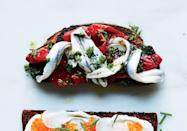 """<a href=""""https://www.bonappetit.com/recipe/pickled-pepper-and-boquerones-toast?mbid=synd_yahoo_rss"""" rel=""""nofollow noopener"""" target=""""_blank"""" data-ylk=""""slk:See recipe."""" class=""""link rapid-noclick-resp"""">See recipe.</a>"""
