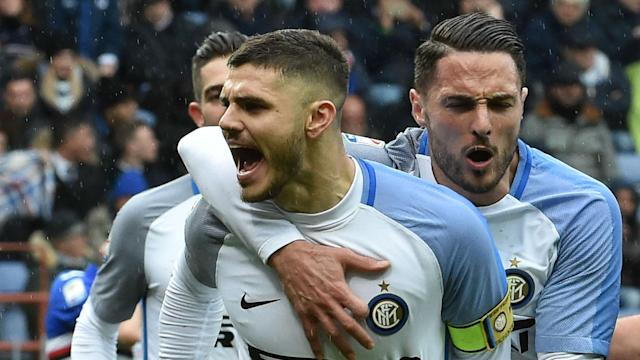 "Wanda Nara has insisted there is ""serenity"" and ""no tension"" over the next move of captain and top scorer Mauro Icardi at Inter."