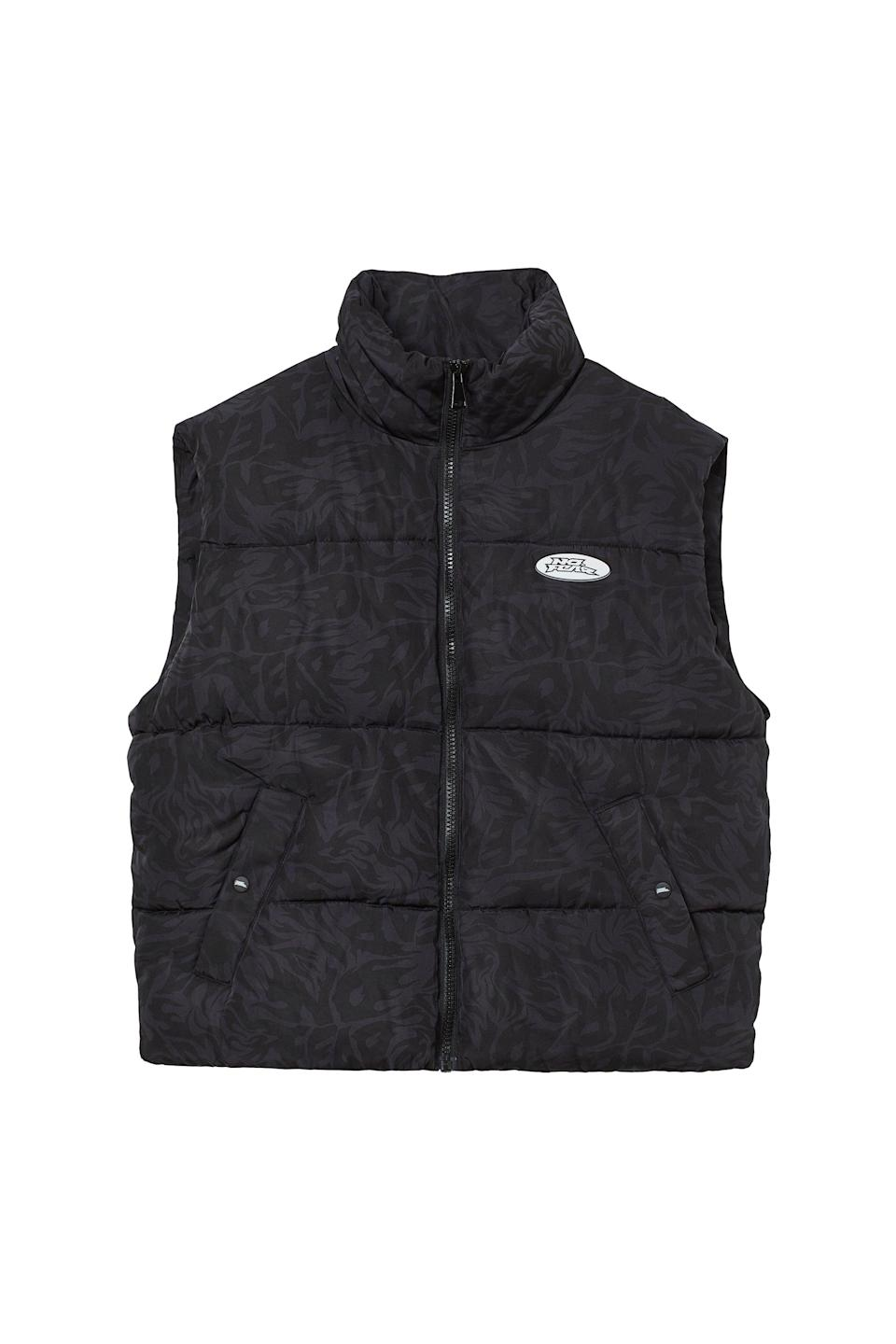 <p>This <span>No Fear x H&amp;M Puffer Vest</span> ($25) is perfect for fall. It's cozy and ideal for when the wind starts to pick up.</p>