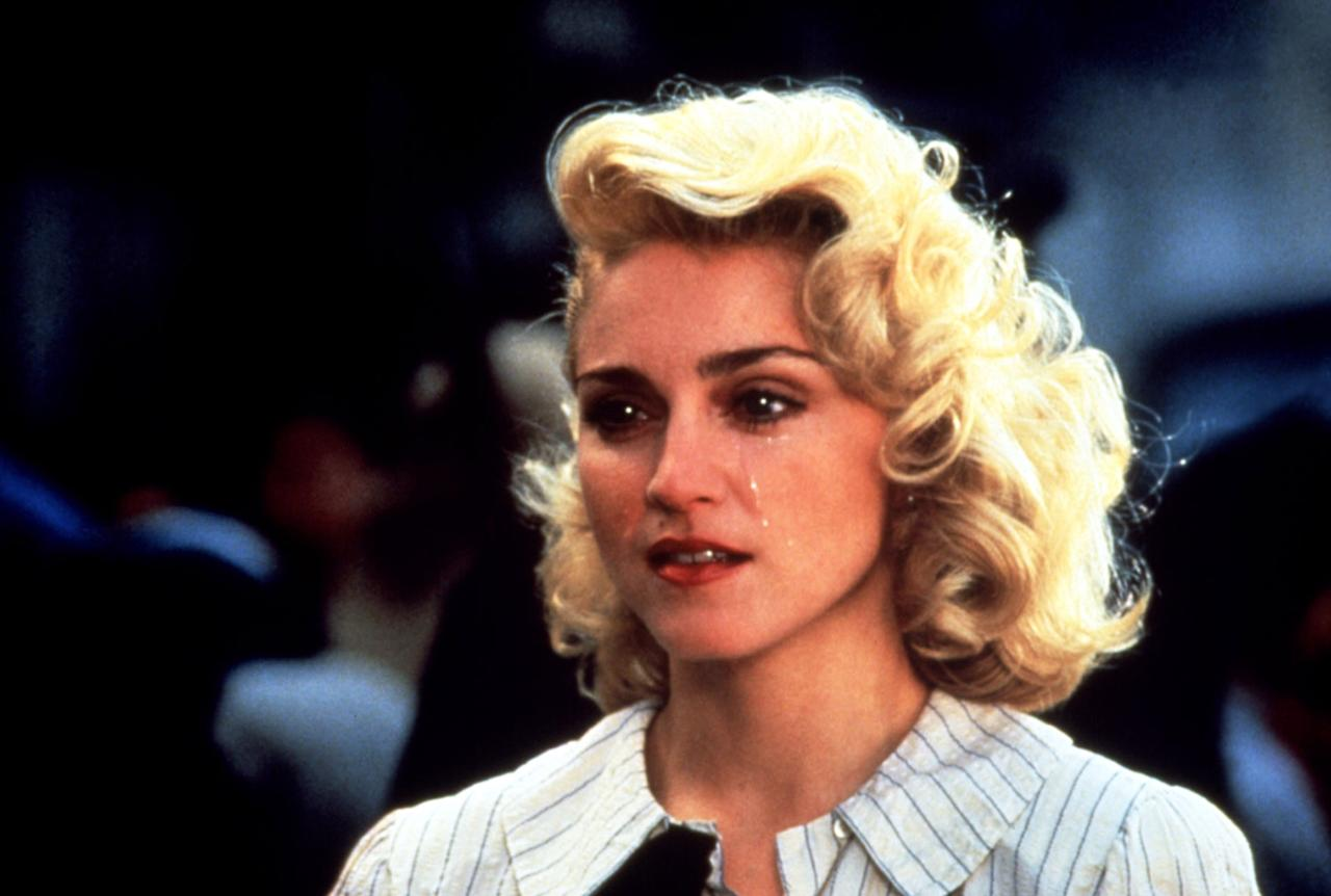 "Madonna in ""Shanghai Surprise""  Weighing this and other flops like Who's That Girl?, Madonna biographer Andrew Morton wrote that her big-screen disasters ""do not seem to have caused much soul-searching in Madonna. It may be that she suffers a lack of critical faculty when it comes to judging her own acting performances, something suggested by her almost invariable preference for first takes of her scenes."" It's tough to pick a Madonna movie that is hardest to sit through, when Body of Evidence and Swept Away are also in the running. But this one seems to hold a special, painful place in people's hearts, partly because she played a virginal missionary. But it specialness lies mostly in the fact that it was one of the few times Madonna allowed herself to be paired with an equally iconic lead, Sean Penn. And rather than rooting for the bickering couple to finally realize their love for one another, rom-com-style, you spend the entire movie rooting for the real-life couple to divorce."