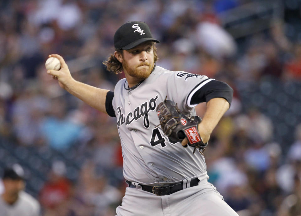 Former White Sox relief pitcher Daniel Webb is dead after an ATV accident. He's 28. (AP)